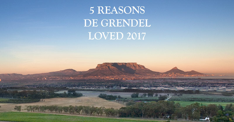 Five Reasons De Grendel Loved 2017