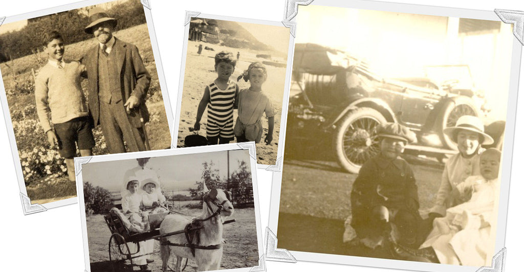 4 Intimate Photographs from the De Grendel Family Album