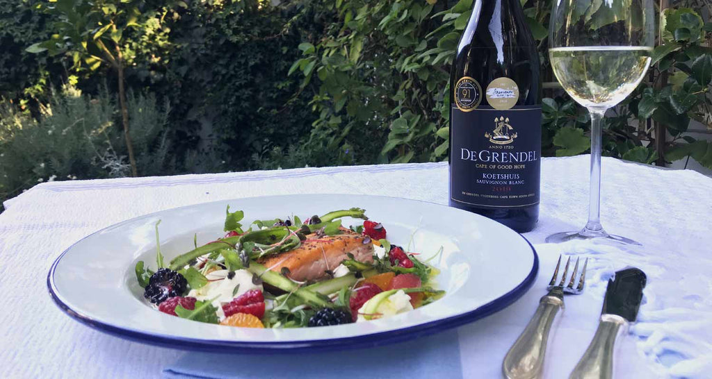 RECIPE: Salmon, Citrus and Mozzarella Salad