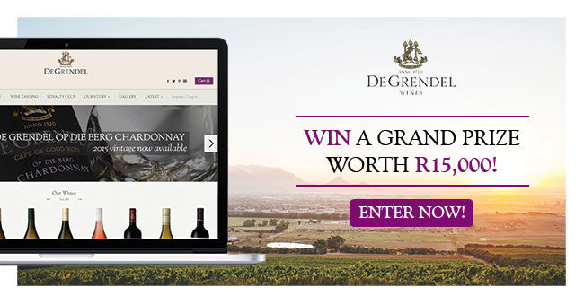 WIN a Grand Prize worth R15,000 with De Grendel