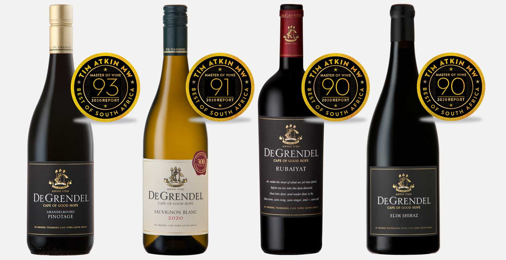 Fantastic Five for De Grendel in Tim Atkin Report