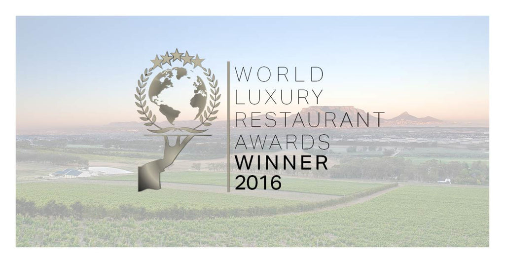 De Grendel Wins at the 2016 World Luxury Restaurant Awards
