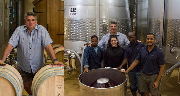 De Grendel Harvest Team 2019 Charles Hopkins