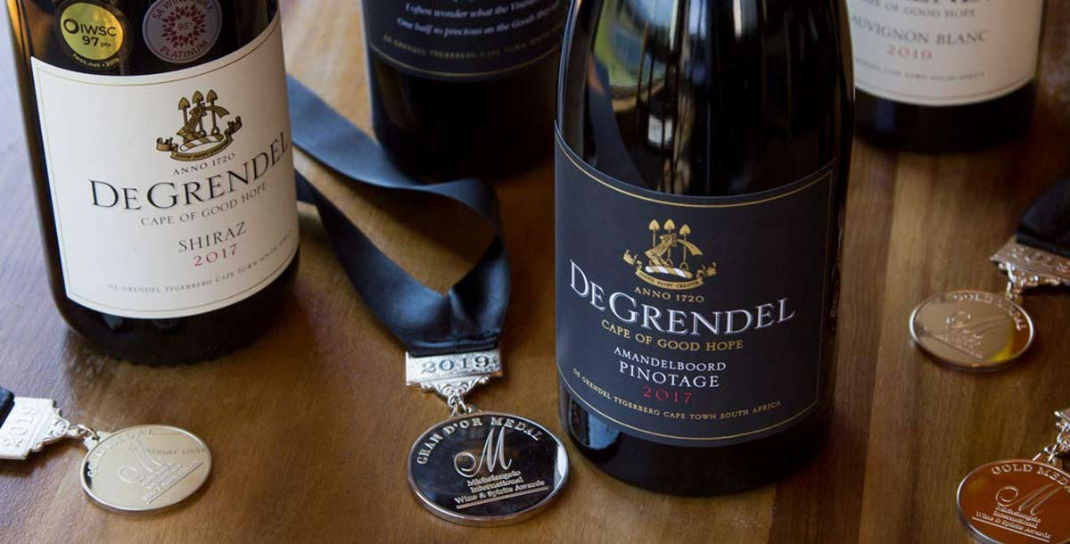 De Grendel Wines Michelangelo Awards 2019 Full