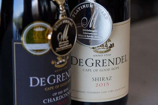 De Grendel Wines Michelangelo Awards 2016 Winners