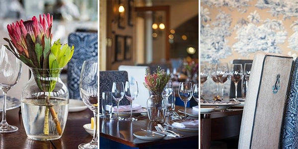 De Grendel Restaurant Cape Town Decor