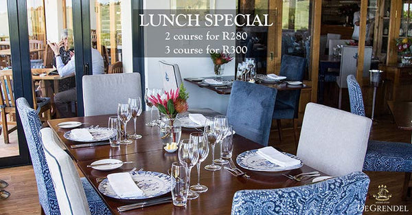 De Grendel Restaurant Winter Lunch Special