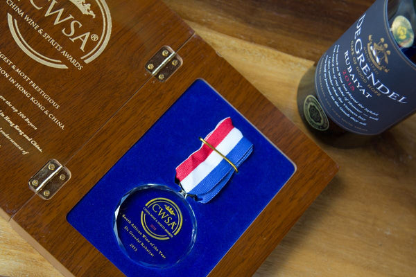De Grendel Rubaiyat CWSA Wine of the Year 2018 medal