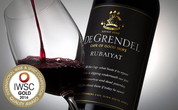 De Grendel Rubaiyat International Wine and Spirit Competition Gold Award