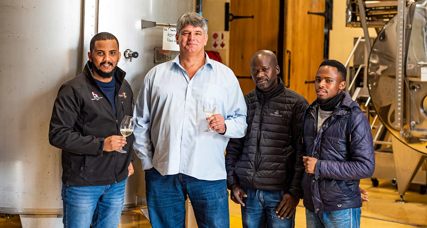 De Grendel Wines Harvest Report 2020 Team South Africa