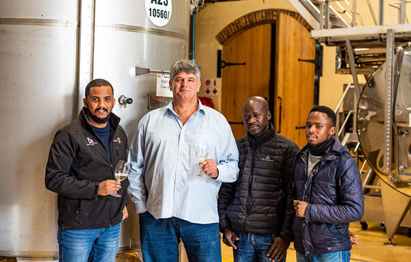 De Grendel Wines Elim Shiraz Cellar Team Charles Hopkins