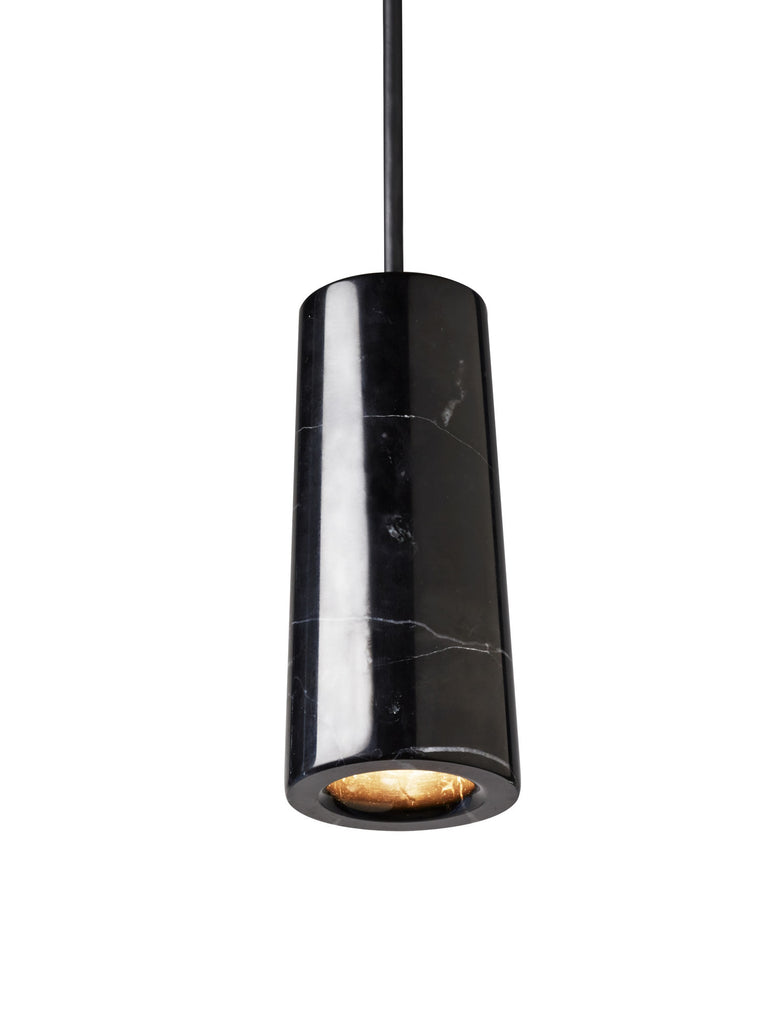 Core - Nero Marquina Marble Single Pendant