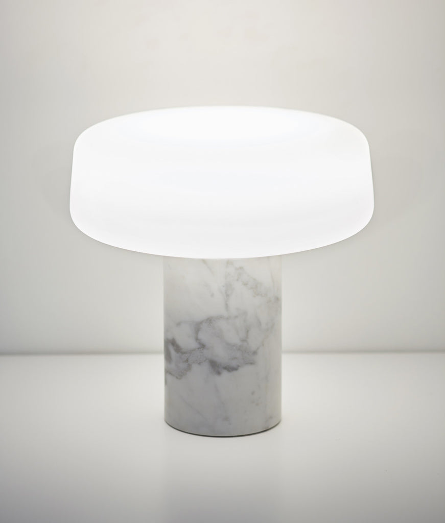 Solid - Carrara Marble Table Light