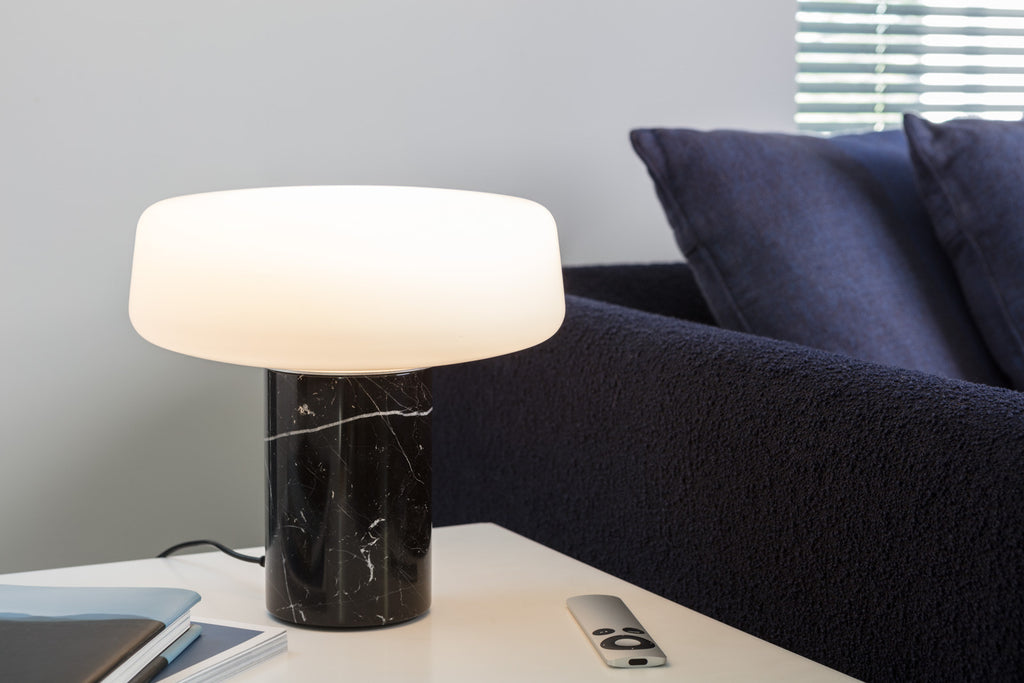Solid Table Light - Small - Nero Marquina Marble