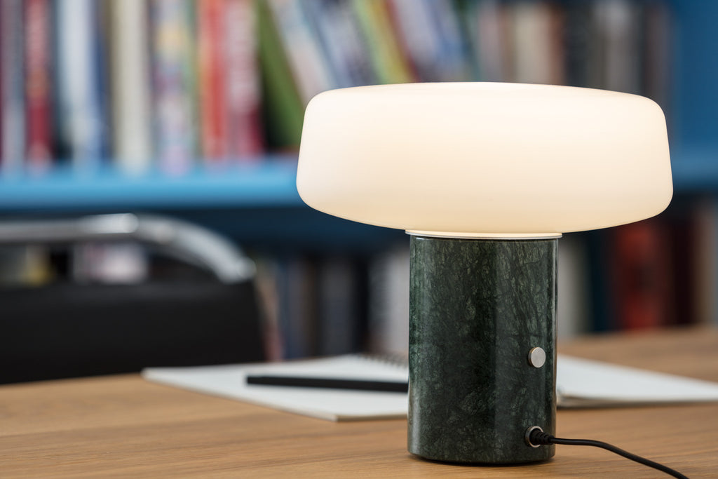 Solid Table Light - Small - Serpentine Green