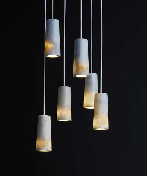 Terence Woodgate Core Six Pendant Cluster In Carrara