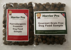 Free dog food samples - Harrier Pro Pet Foods.co.uk