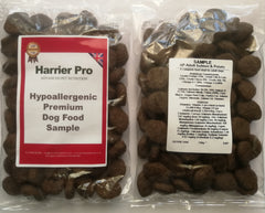 Hypoallergenic dog food sample - Harrier Pro Pet Foods.co.uk
