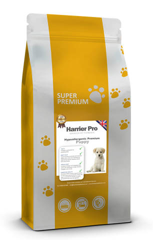 Hypoallergenic Puppy Food - Harrier Pro Pet Foods.co.uk