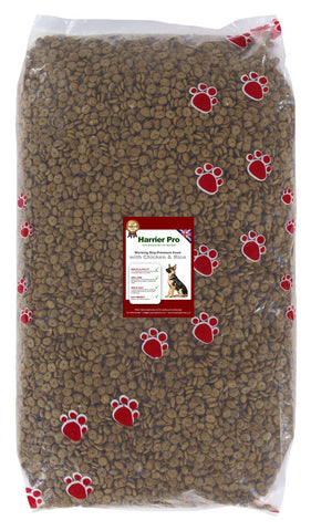 Chicken and Rice Working Dog Food - Harrier Pro Pet Foods.co.uk