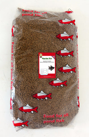 Winter Wheat Germ Pond Pellets (Various Sizes). Only £21.49 for 10KG. RRP £36.99. Harrier Pro Pet Foods