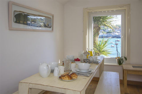 Harbourside House  Quayside position with fantastic views and parking on site.