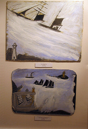 alfred wallis painting replicas, alfred wallis cottage, st.ives cottages
