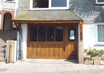 st.ives cottages private parking. Cheval roc garage