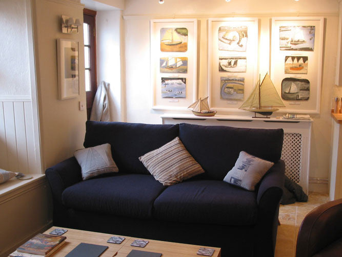 Alfred Wallis Sofa Bed Within The Living Room Of His Holiday Cottage In St. Ives Part 51