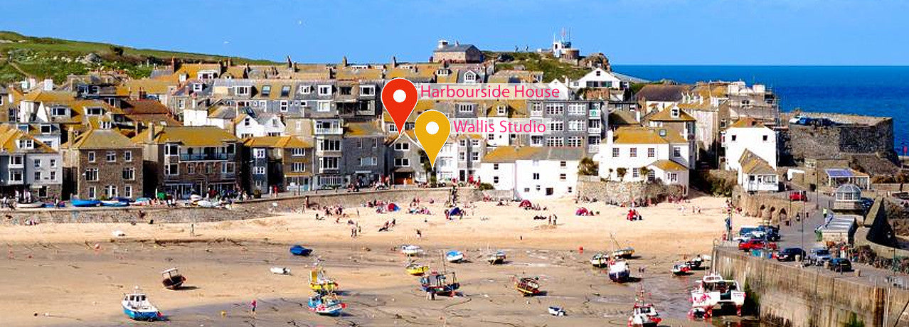 st.ives cottages - cheval roc and alfred wallis studio location on the harbour front