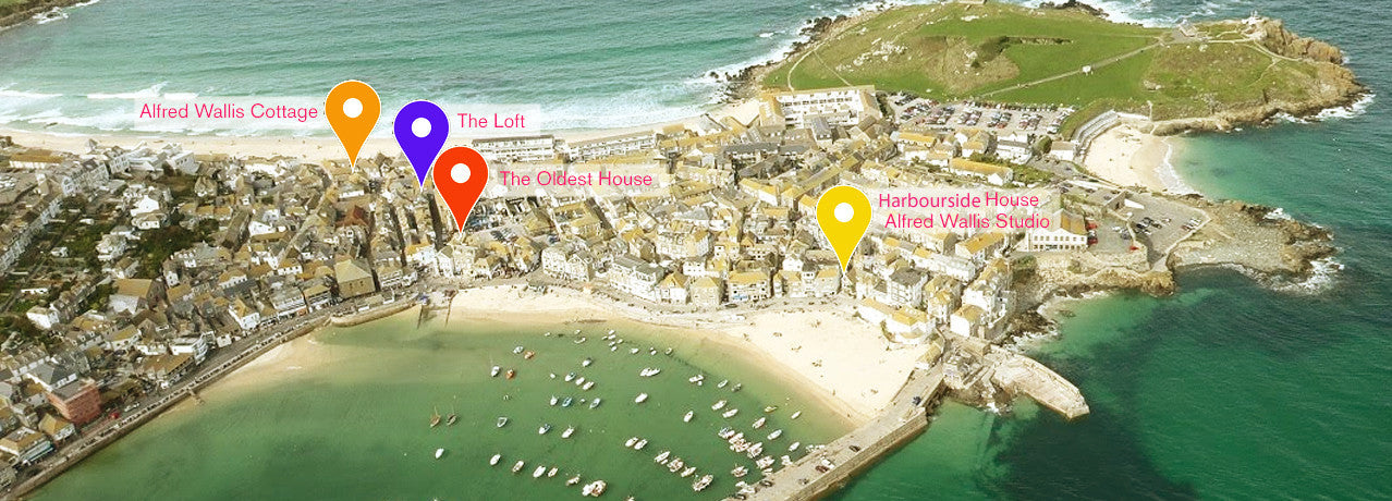 st.ives cottages cottages location