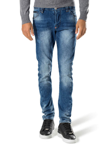 PHILIPP PLEIN JEANS MDT0744 PDE001N PURE INDACO
