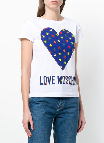 LOVE MOSCHINO T-SHIRT W 4 F30 60 E 1907 A00