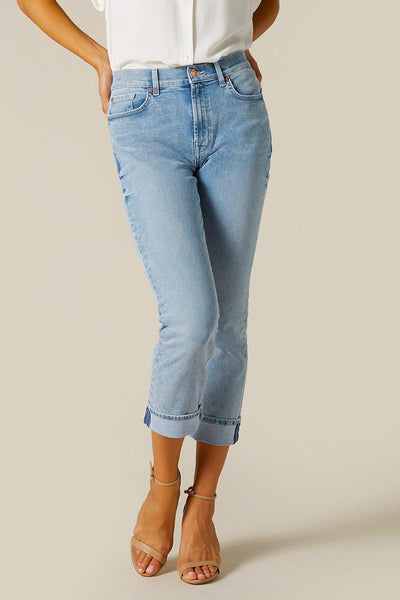 7 For All Mankind Relaxed Skinny Girlfriend Jeans-Libas Trendy Fashion Store