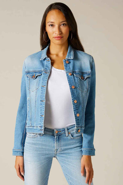 7 For All Mankind Denim Ceket-Libas Trendy Fashion Store