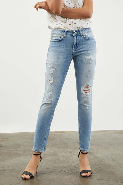 Dondup Monroe Skinny Fit Jeans-Libas Trendy Fashion Store