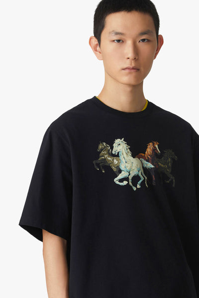Kenzo Horses T-shirt-Libas Trendy Fashion Store