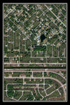 Custom Satellite Image Poster - TerraPrints.com