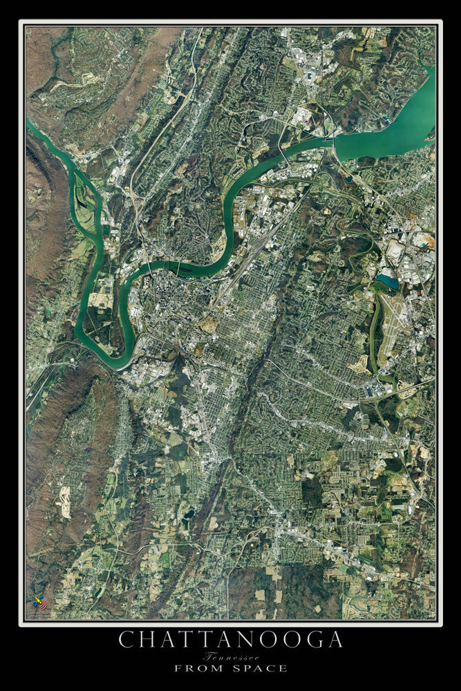 Chattanooga Tennessee Satellite Poster Map on national symbols of tennessee, political map of tennessee, driving to tennessee, relief map of tennessee, water map of tennessee, large printable map of tennessee, physical map of tennessee, interactive map of tennessee, driving map of tennessee, gps map of tennessee, google tennessee, satellite weather in tn, satellite maps of homes, street map of tennessee, lowest point in tennessee, complete map of tennessee, detailed map of tennessee, online map of tennessee, outline map of tennessee, elevation of tennessee,