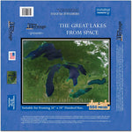 Great Lakes From Space Satellite Puzzle Map - TerraPrints.com