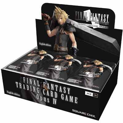 Final Fantasy TCG: Opus IV 4 Collection - Booster Box - PREORDER