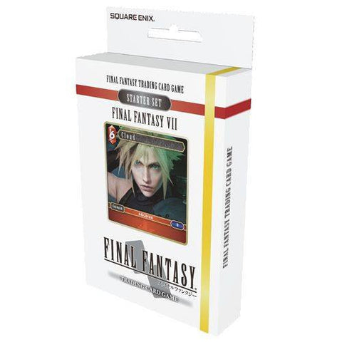 Opus I Collection - FINAL FANTASY TCG: VII STARTER DECK (FIRE AND EARTH)