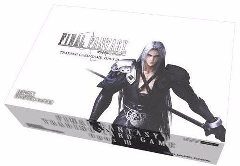Opus III Collection - Final Fantasy TCG: Opus III 3 Collection - Booster Box - PREORDER
