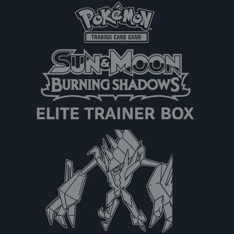 Sun & Moon: Burning Shadows - Pokemon TCG: Sun & Moon: Burning Shadows Elite Trainer Box - AUGUST PREORDER