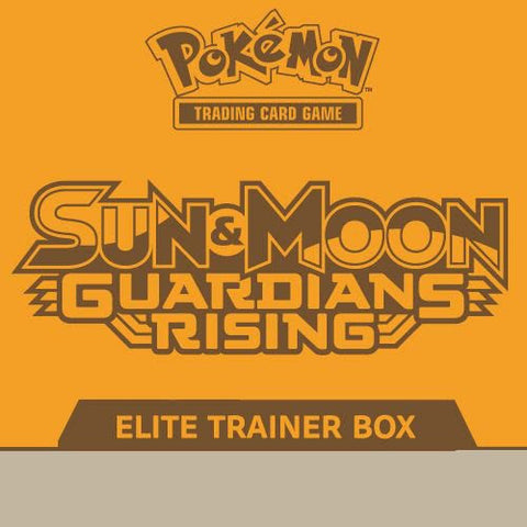 SUN & MOON: GUARDIANS RISING - Pokemon TCG: SUN & MOON: GUARDIANS RISING ELITE TRAINER BOX