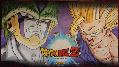 Supplies - Dragon Ball Z Playmat - Cell And Gohan - Awakening Release