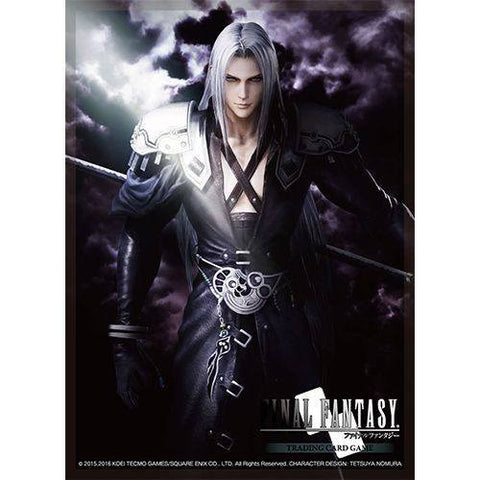 Supplies - FINAL FANTASY TCG: DISSIDIA FINAL FANTASY SEPHIROTH - DECK PROTECTOR CARDSLEEVES - MAY PREORDER