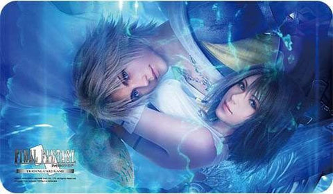 Supplies - FINAL FANTASY TCG: FINAL FANTASY X TIDUS & YUNA - PLAYMAT - MAY PREORDER