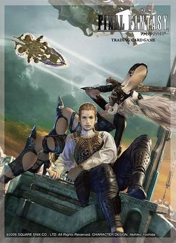 Supplies - FINAL FANTASY TCG: FINAL FANTASY XII FRAN AND BALTHIER - DECK PROTECTOR CARDSLEEVES - MAY PREORDER