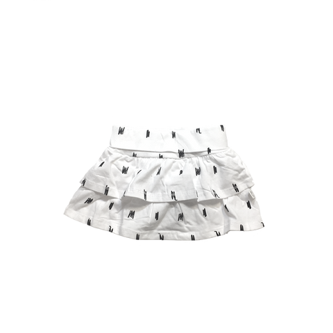STOCKHOLM Skirt White - HAPPY little FACE